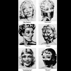 Gags, Masks, Blindfolds