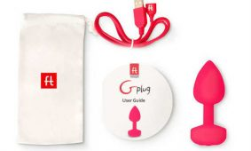Introducing the new G-Plug Rechargeable Butt Plug from Fun Toys
