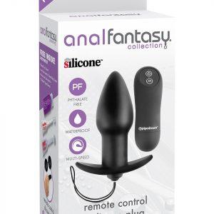 Remote Control Silicone Butt Plug