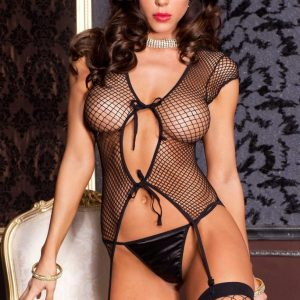 diamond net cami