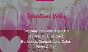 Valentines Volley Event at Passion