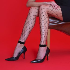 Whale Net Footless Tights