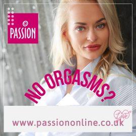 No Orgasms? Work on it.