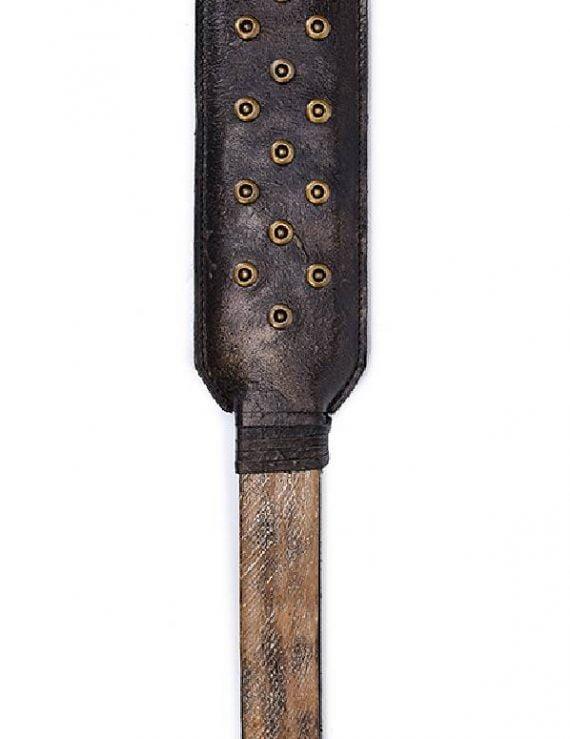 Vintage Leather Spanking Paddle